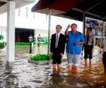 SBY,istana merdeka,banjir,istana merdeka