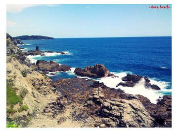Pantai siung,yogyakarta