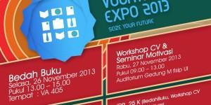 Kembangkan diri dengan berani di vocational expo 2013