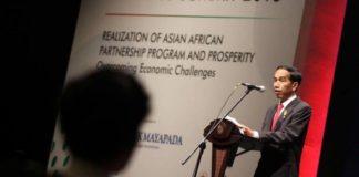 Jokowi Saat di Convention Centre Jakarta