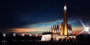 Mengagumi Keindahan Arsitektur Masjid Permata Qolbu