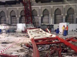 "Ternyata Begini Kronologi Jatuhnya ""Crane"" di Masjidil Haram"