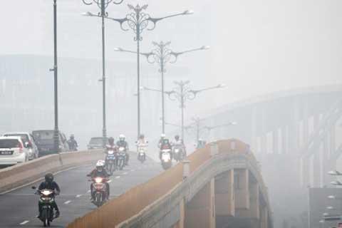 kabut asap, dust collector, polusi udara