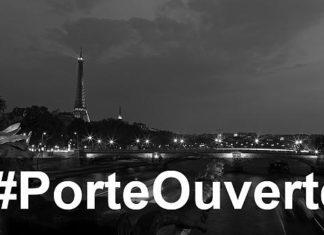 #porteouverte, teror paris, tragedi paris