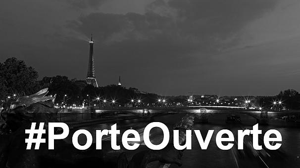 #PorteOuverte Menjadi Trending Topic di Prancis Sebagai Wujud Solidaritas