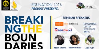 edunation 2016, event UI, kuliah luar negeri