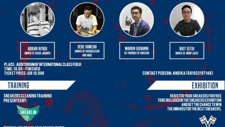 Creative Industry 1.0, Ajang Mahasiswa Berbisnis di Industri Sepatu