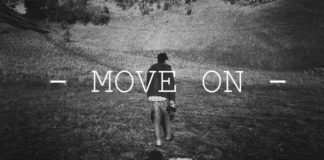 move on, mantan, asmara