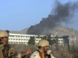 serangan hotel di Afghanistan