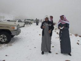 Fenomena salju di timur tengah