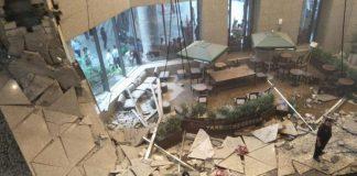 gedung bursa efek indonesia ambruk