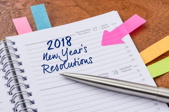 resolusi 2018, resolusi populer, tren resolusi, daftar resolusi 2018