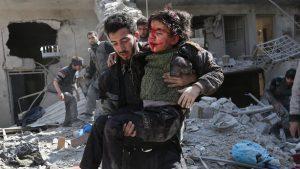 penyerangan pemerintah Suriah
