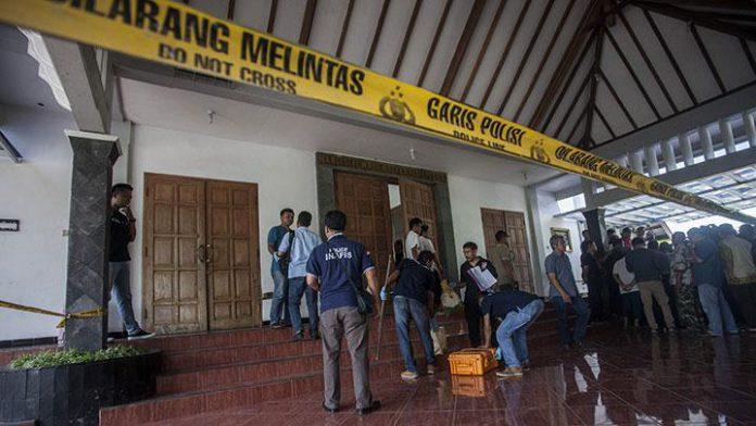 penyerangan gereja jogja