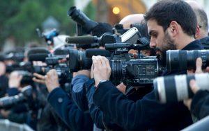 Kegiatan jurnalistik para pewarta