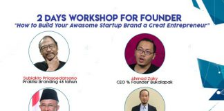 Workshop entrepreneur dari Subiakto Priosoedarsono
