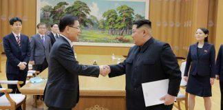 pertemuan korea