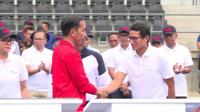 Jokowi, Sandi, Pilpres 2019