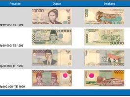 pecahan uang lama