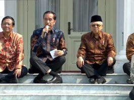 kabinet indonesia maju,jokowi,maruf amin