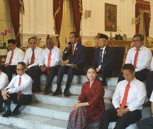 wakil menteri,menteri,kabinet indonesia maju