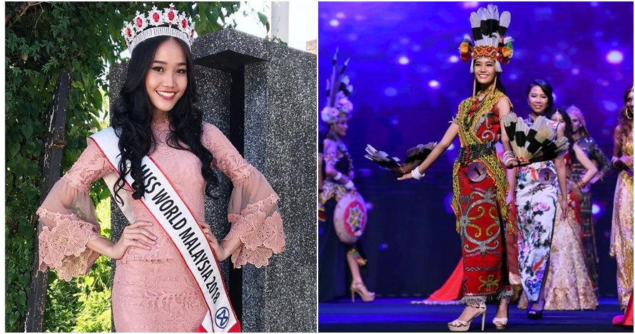 gadis dayak,wanita dayak,larissa ping,miss world, Malaysia