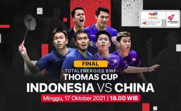 Indonesia Juara Thomas Cup,indonesia,thomas cup